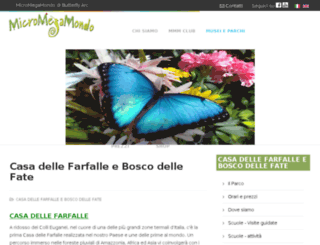 butterflyarc.it screenshot