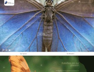 butterflyfarm.co.cr screenshot