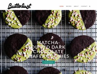 butterlustblog.com screenshot