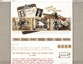 buttermilkbasin.blogspot.com screenshot