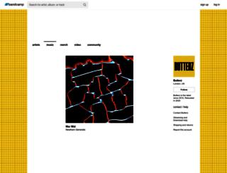butterz.co.uk screenshot