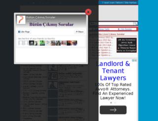 butuncikmissorular.org screenshot