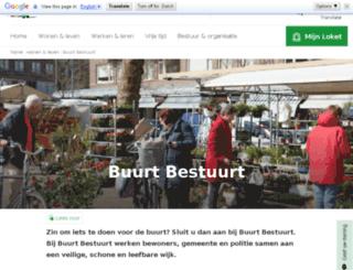 buurtbestuurt.nl screenshot