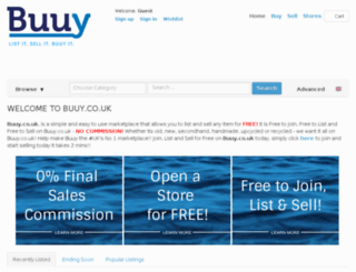 buuy.uk screenshot
