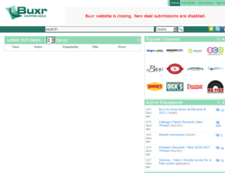 buxr.com screenshot