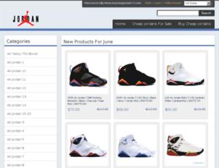 buy-cheapjordans.com screenshot