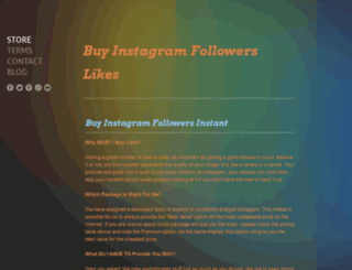 buy-instagram-followers-likes.weebly.com screenshot