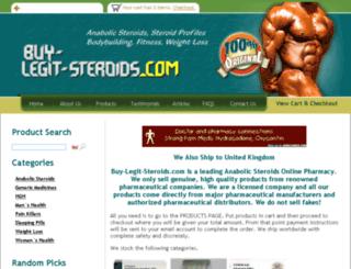 buy-legit-steroids.com screenshot