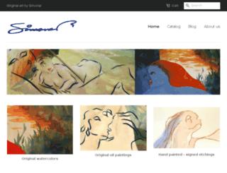 buy-original-art-online.com screenshot
