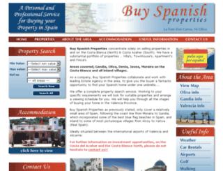 buy-spanishproperties.com screenshot