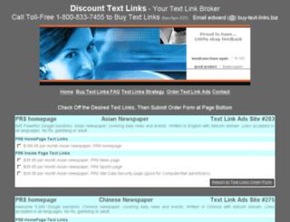 buy-text-links.biz screenshot