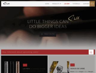 buy.lixpen.com screenshot