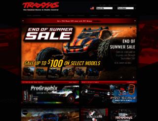 buy.traxxas.com screenshot