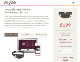 buy.voyce.com screenshot