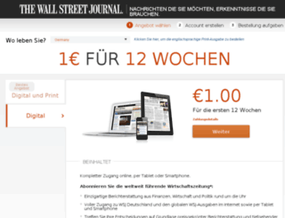buy.wallstreetjournal.de screenshot