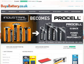 buyabattery.co.uk screenshot