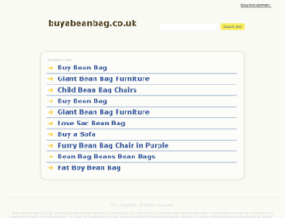 buyabeanbag.co.uk screenshot