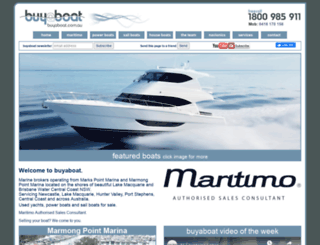 buyaboat.com.au screenshot
