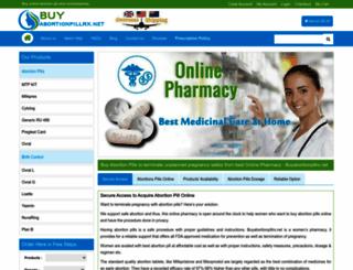 buyabortionpillrx.net screenshot