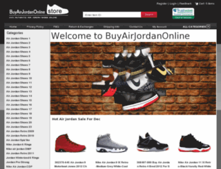 buyairjordanonlineshop.com screenshot