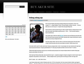 buyakur.wordpress.com screenshot
