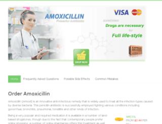 buyamoxicillin.name screenshot