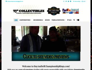 buyandsellchampionshiprings.com screenshot