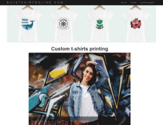 buyatshirtonline.com screenshot