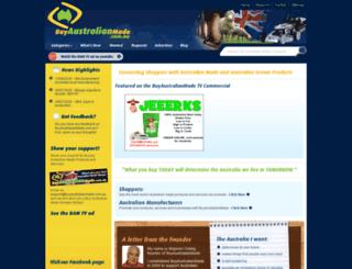 buyaustralianmade.com.au screenshot