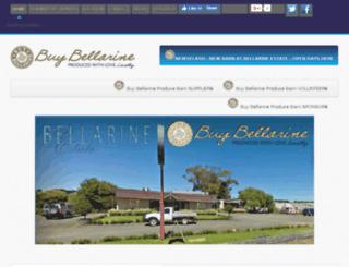 buybellarine.com.au screenshot
