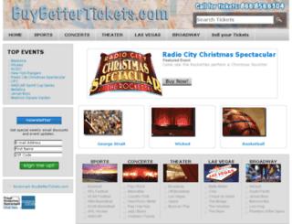 buybettertickets.com screenshot