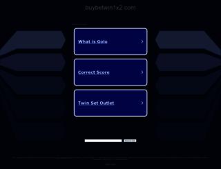 buybetwin1x2.com screenshot