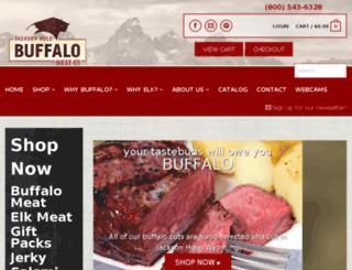 buybuffalomeat.com screenshot