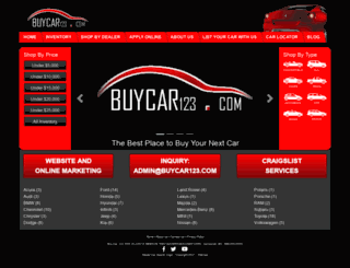 buycar123.com screenshot