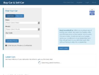 buycarandsellcar.com screenshot