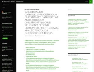 buycheapcollegetextbooks.wordpress.com screenshot