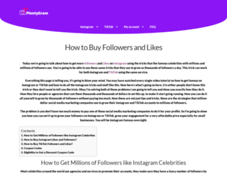 buycheapfollowersfast.com screenshot