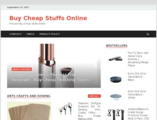 buycheapstuffs.com screenshot