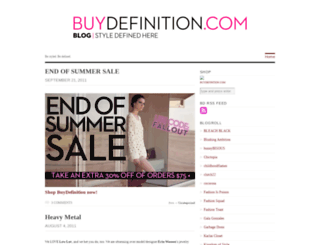buydefinition.wordpress.com screenshot
