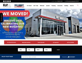 buydirecttruckcentre.com screenshot