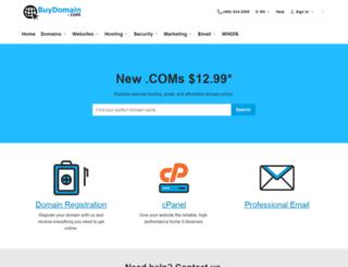 buydomain.com screenshot