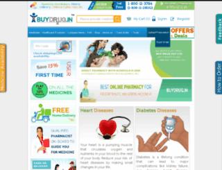 buydrug.in screenshot