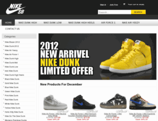 buydunkshoes.org screenshot