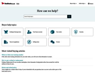 buyerhelp.abebooks.co.uk screenshot