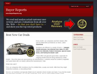 buyerreports.org screenshot