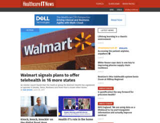buyersguide.healthcareitnews.com screenshot