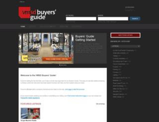 buyersguide.vmsd.com screenshot
