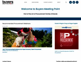 buyersmeetingpoint.com screenshot