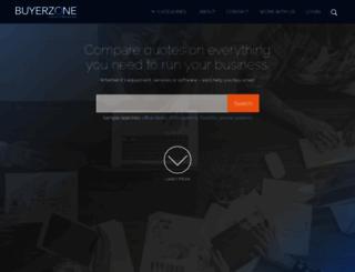 buyerzone.com screenshot