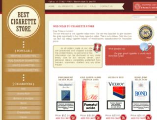 buyeucigarettes.com screenshot